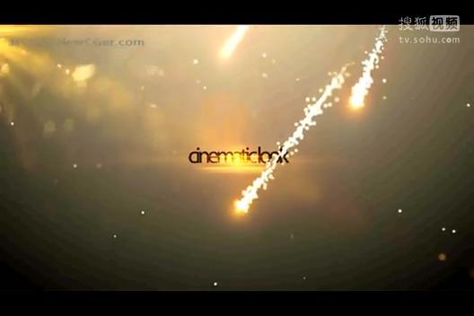 免费下载-粒子光束中的字幕展示片头ae工程,ae模板国外经典创意科幻唯