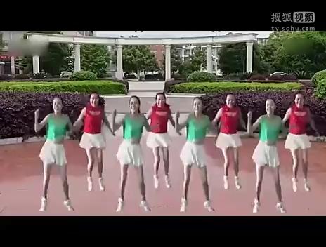 儿童舞蹈小苹果广场舞