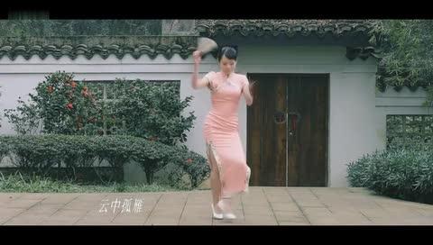 性感旗袍美女 演绎激情古典扇子舞