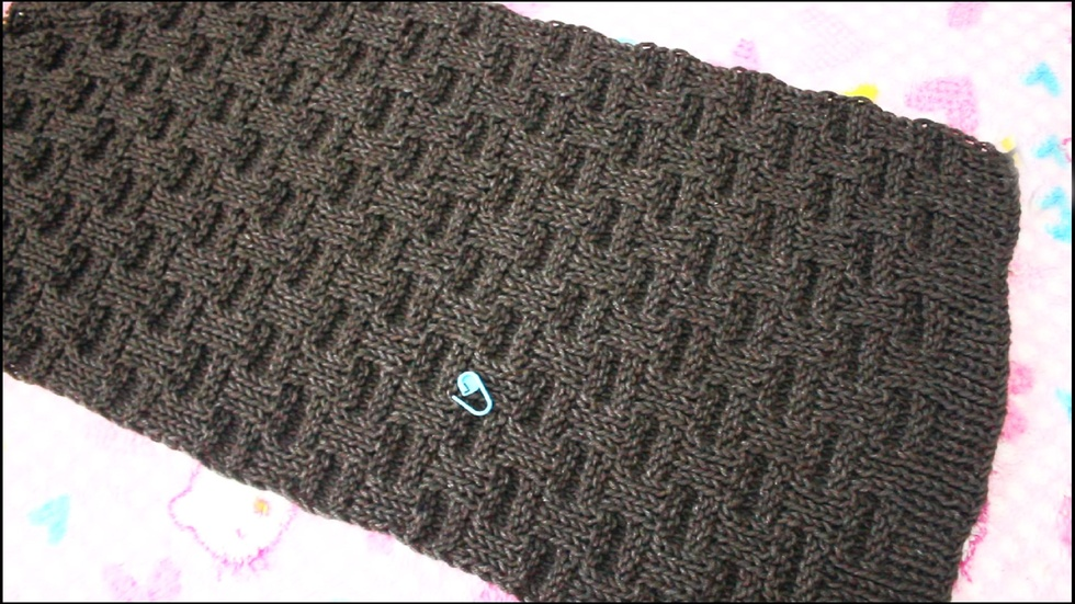 男士围巾的各种编织视频