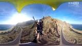 VR视频360度全景 飞行伞